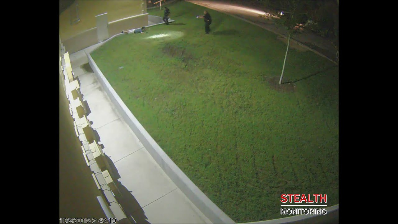 Backdoor Break-In Office Theft Arrest - Office Building Security