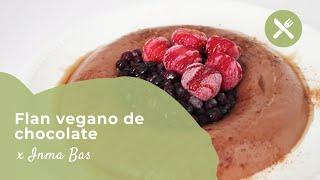 FLAN VEGANO de CHOCOLATE | Receta Saludable y MUY FÁCIL | Vita33Shop