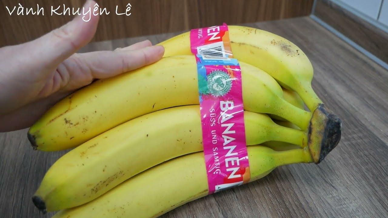 CHUỐI CHIÊN – Công thức pha Bột Bánh Chuối chiên giòn rụm ngon nhất từ nào đến giờ by Vanh Khuyen