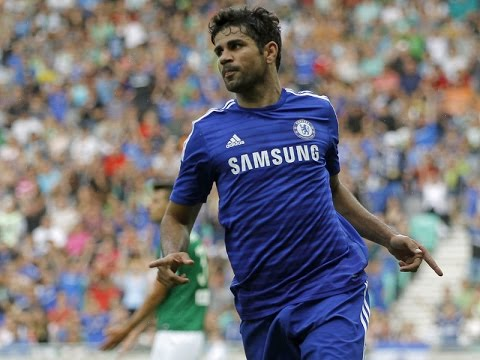 Diego Costa - Chelsea Goals & Assists | Pre-Season 2014/2015