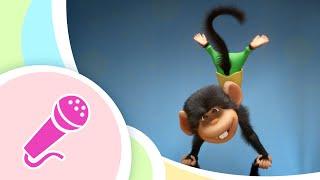 Gambar cover TaDaBoom Español🐵🍌 CINCO MONITOS 🍌🐵 Five Little Monkeys 🎤 Canciones infantiles 👶