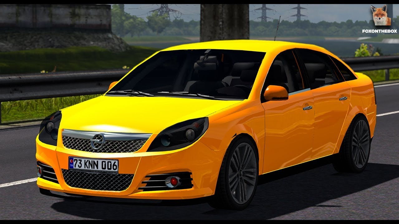 Opel Vectra Euro Truck Simulator 2 Ets2 1 30 Mod Youtube