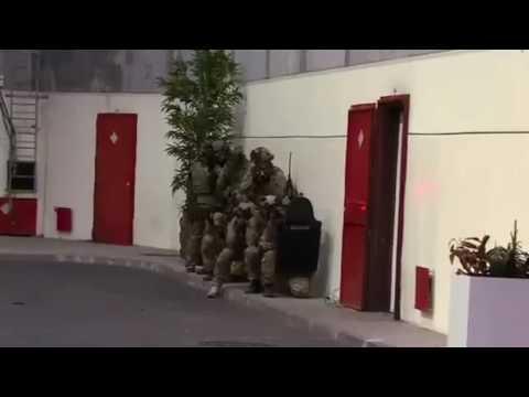 French 1er RPIMa CTLO unit trailer