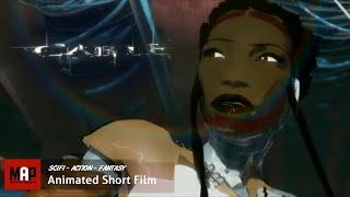 Sci-Fi CGI 3d * * * KABLO Remi Gamiette tarafından İnanılmaz Seksi Kız Aksiyon Kısa Film Animasyon