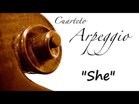 Música para ceremonia civil - She, Elvis Costello - Cuarteto Arpeggio en Directo