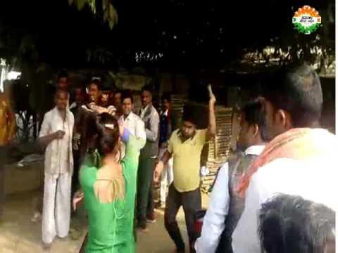 women beaten by Hooligan people in mainpuri