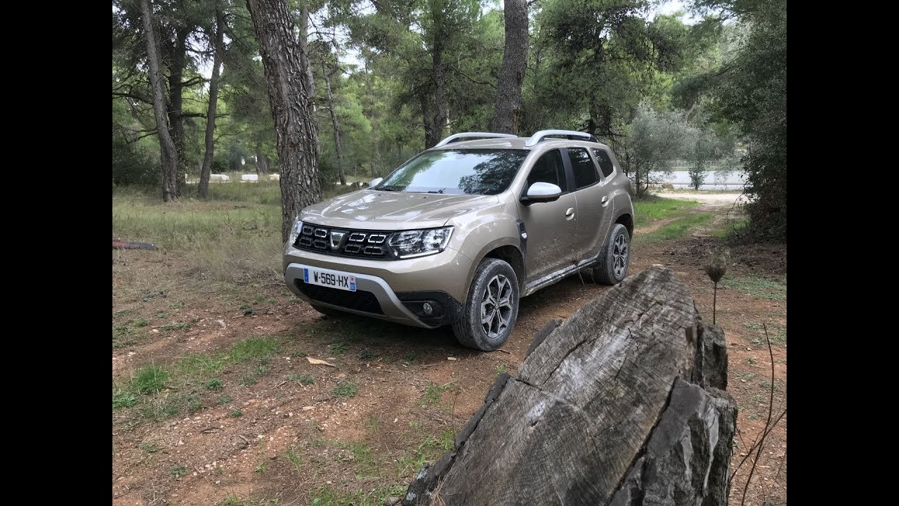 2018 dacia duster dci 110 edc 4x2 dacia duster 2 by ubitestet youtube. Black Bedroom Furniture Sets. Home Design Ideas
