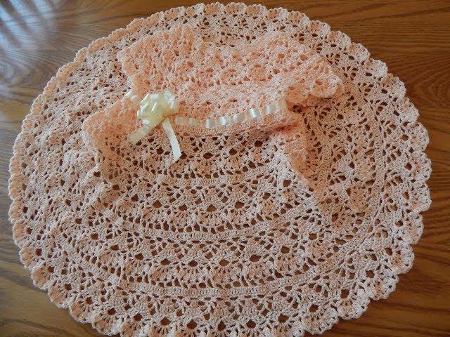Tutorial 95 Vestido De Bebé A Crochet Ctejidas