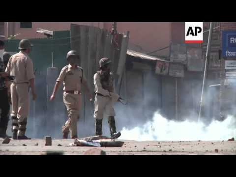 Anti-Israel protests turn violent in Indian controlled Kashmir