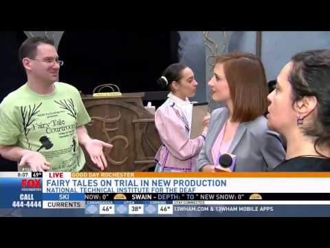RIT on TV: NTID Performing Arts - 'Fairy Tale Courtroom'