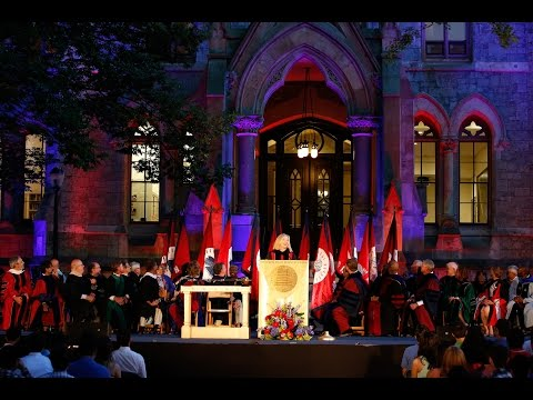 University of Pennsylvania 2015 Convocation