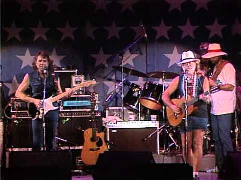 Willie Nelson - Luckenbach, Texas (Live at Farm Aid 1986)