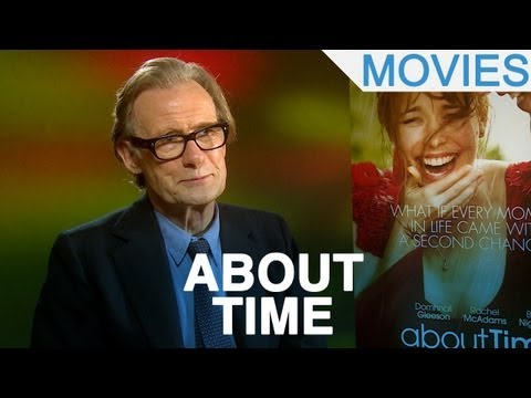 Richard Curtis and Bill Nighy 'About Time' interview