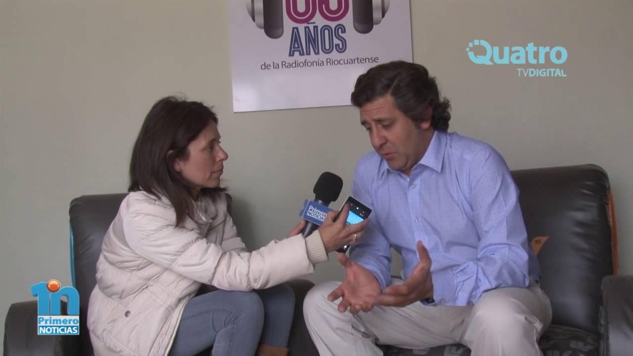 MAXIMILIANO PIZARRO 65° ANIVERSARIO DE RADIO RÍO CUARTO - YouTube