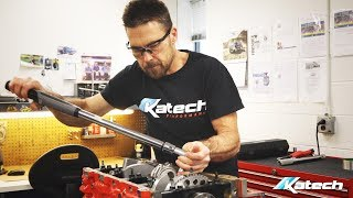 Watch Katech Construct a LSX Engine For Our Krew Kut Build!