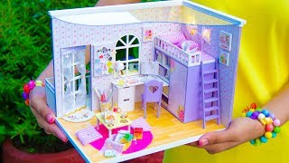 DIY Family Miniature Doll House