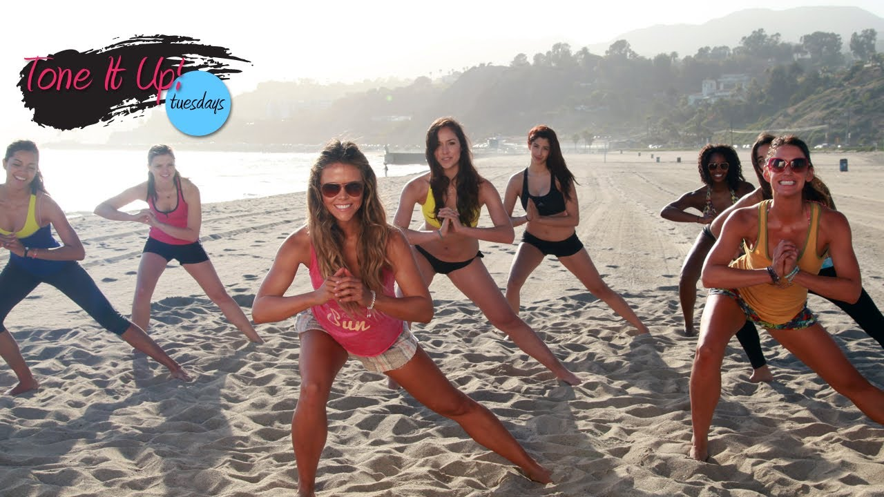 fun in the sun workout tone it up tuesdays youtube
