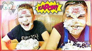 😜 Челлендж ТОРТ В ЛИЦО ВЫЗОВ 🍰 Crazy Cake Challenge BIRTHDAY PARTY RUSSIA 🍓