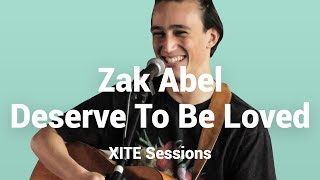 Zak Abel Deserve To Be Loved Live At XITE HQ 4