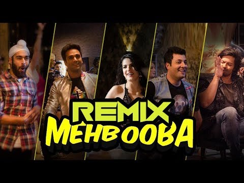 O Meri Mehbooba Remix Song | Mehbooba Mehbooba Dance Mix  | Music - Bollywood Remix