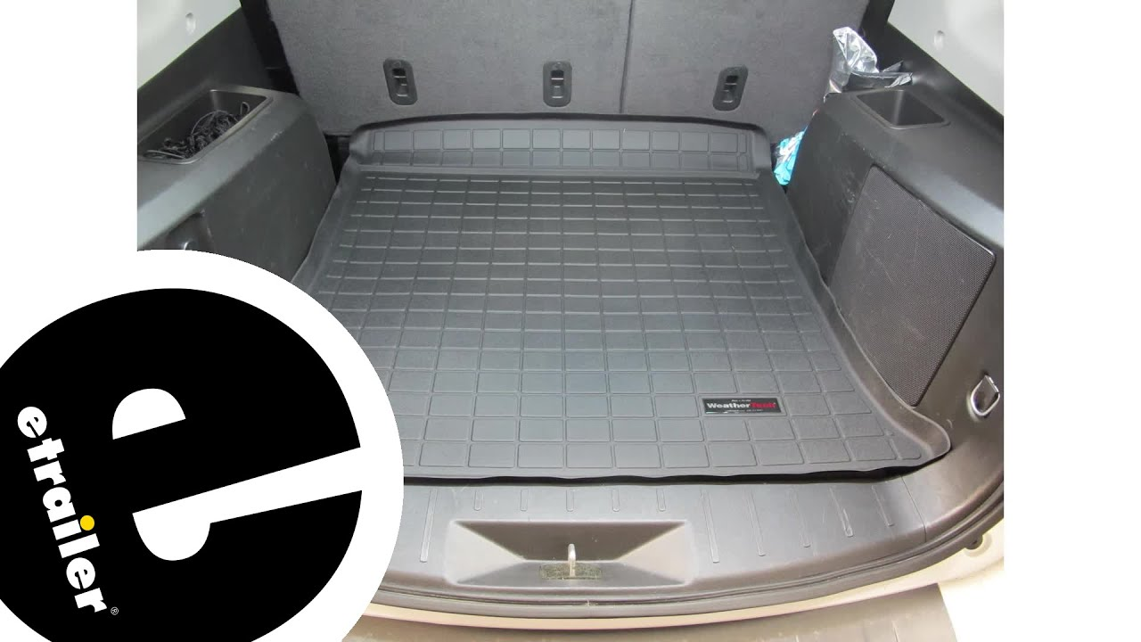 Etrailer Weathertech Cargo Floor Liner Review 2015 Gmc