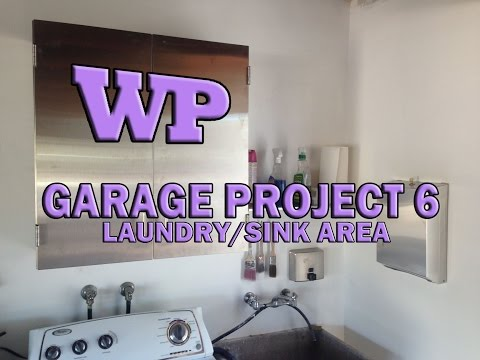 Garage Project 6 – Laundry/Sink Area