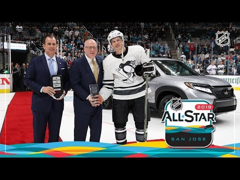 Sidney Crosby takes home the 2019 NHL All-Star MVP