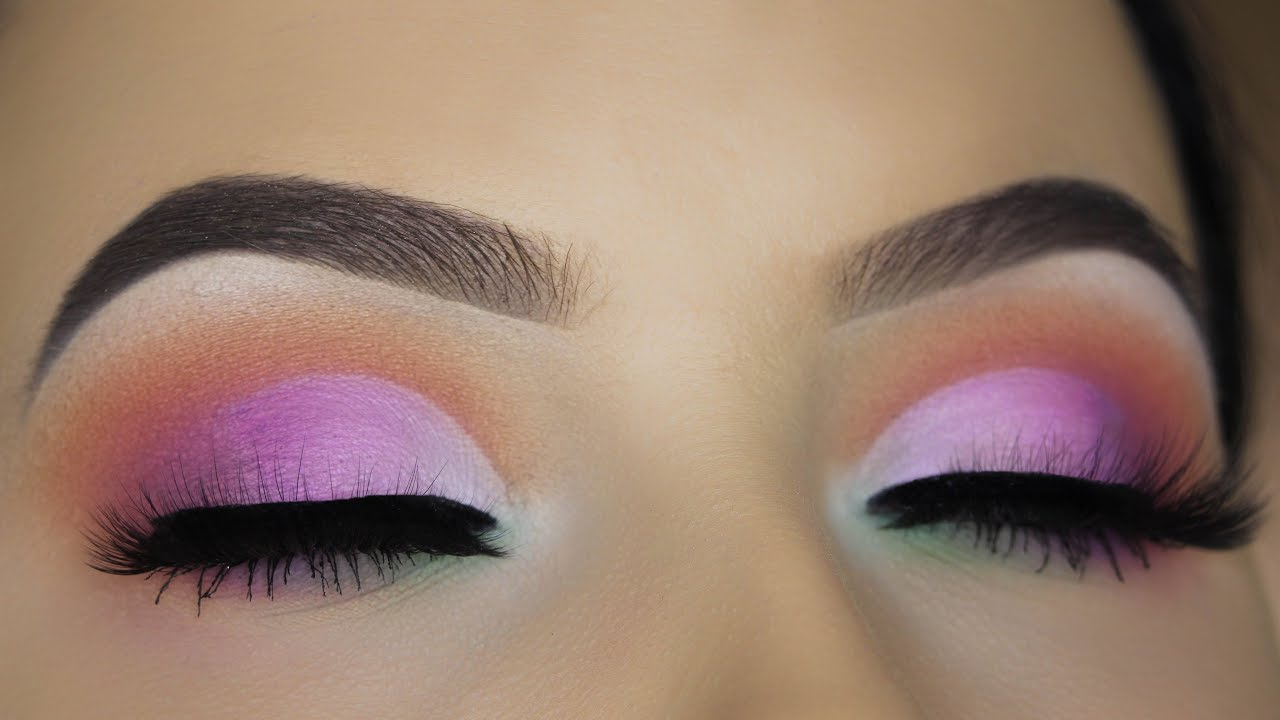 how to do a cut crease eye look