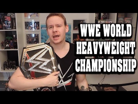 WWE WORLD HEAVYWEIGHT CHAMPIONSHIP *NEU* Replica Belt GERMAN REVIEW Titel Gürtel