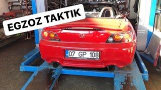 Matkap's Ekibiyle s2000 Egzoz Operasyonu! - OKAN ÇEKİÇ