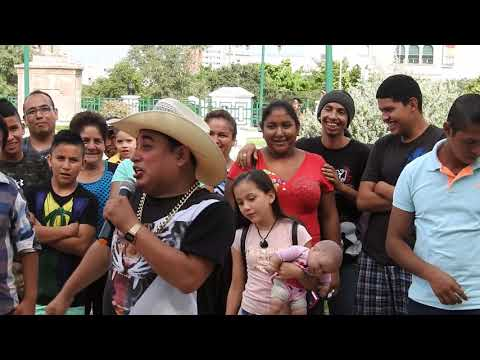 Payasos de la Macroplaza   Gomitin  1 Parte  1/Oct/2017  Monterrey N.L.