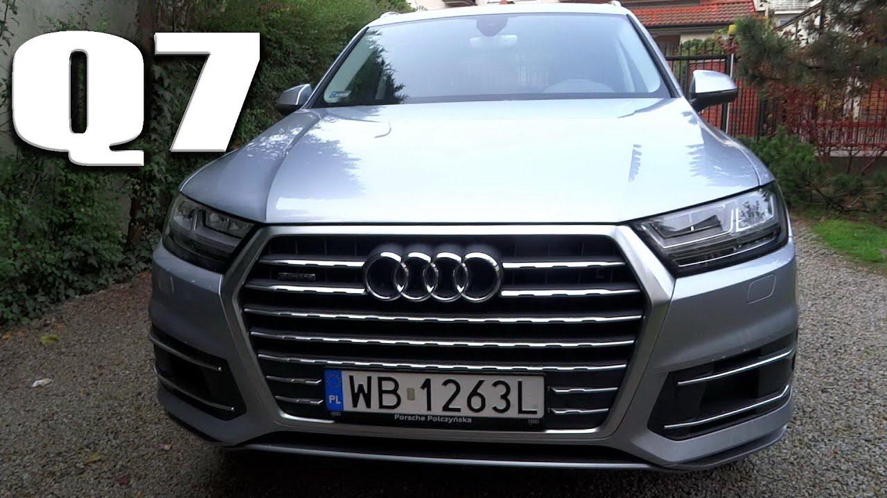 2016 Audi Q7 3.0 TDI Quattro [PL] Detailed In Depth Review Nowe Q7