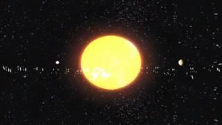 3D Solar System Animation