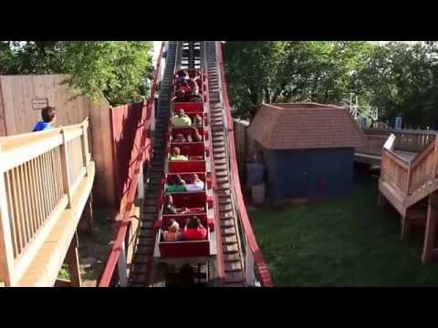Wildcat wooden roller coaster at Frontier City