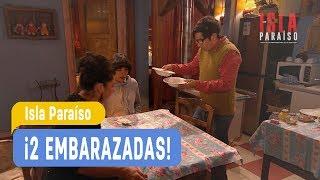 Isla Paraiso - !2 Embarazadas! Angelina y Juan Luis