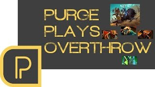 Dota 2 Overthrow games with Purge