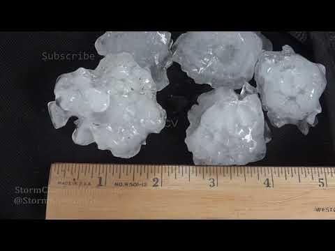 Massive Hail hits