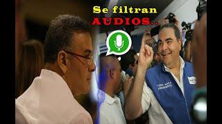 Se filtra audio entre Saca y Mauricio Funes │Con esto ARENA piensa señalar a Nayib Bukele