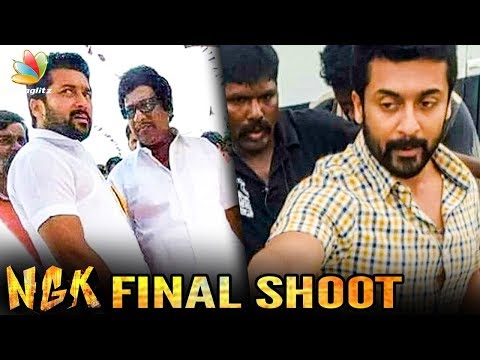 NGK on its Final Leg of Shooting | Suriya & Selvaraghavan Movie
