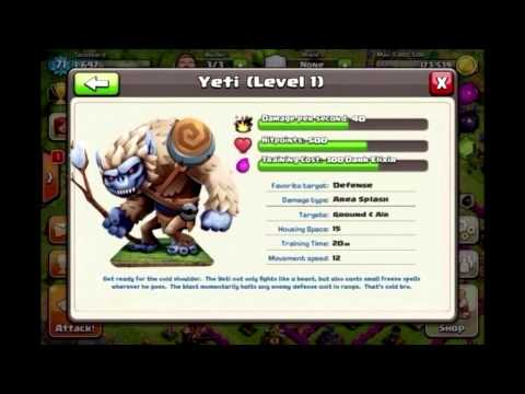 "Clash of Clans - The Troop ""Yeti"""