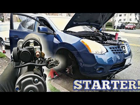 2008 nissan altima starter replacement