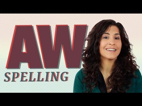 How To Say 'aw' In A Word (law Vs. Low) | American English Pronunciation | Vowels