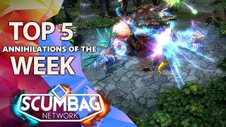 HoN Top 5 Annihilations of the Week - December 10th (2018)