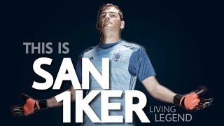 Iker Casillas || THIS IS 'SAN IKER' - HEROIC Saves || 1K Special Video - HD