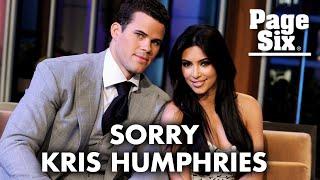 Kim Kardashian: I owe ex-husband Kris Humphries an apology | Page Six Celebrity News