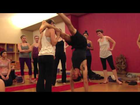 Handstands! with Matt Giordano 11-3-12