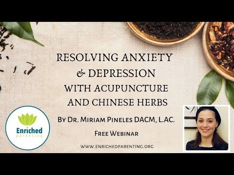 Dr. Miriam Pineles - Resolving Anxiety & Depression W/ Acupuncture and Chinese Herbs