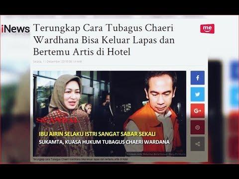 Kesabaran Airin Pasca Skandal Wawan Cek In Hotel Bareng Artis Part