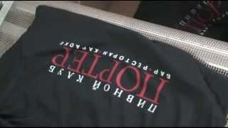 Печать на футболках 2 цвета(Печать шелкографией на футболках на http://www.hermes-r.ru/. Нанесение логотипов на ткани., 2012-07-09T12:24:54.000Z)