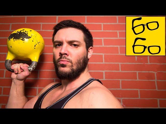 Упражнения с гирями на силу, координацию, растяжку — гиревая тренировка от Дмитрия Алферьева
